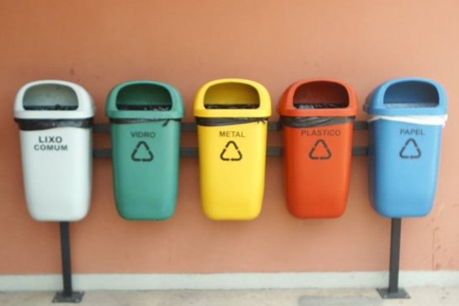 plastico nos oceanos reciclagem